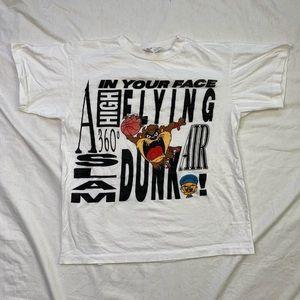 Vintage Dunking Taz T-shirt
